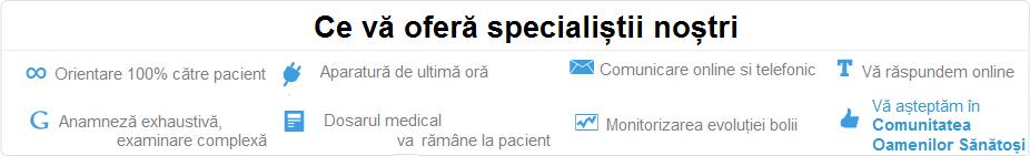 Vezi toate specialitatile medicale